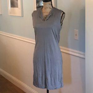 Lovely Banana Republic dress S large in soft gray
